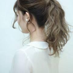 ストリート 外国人風 グラデーションカラー ナチュラル ヘアスタイルや髪型の写真・画像