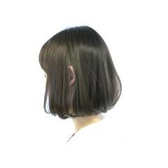 暗髪 ボブ 色気 ナチュラル ヘアスタイルや髪型の写真・画像