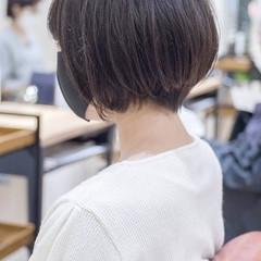 ショートヘア ショートボブ 小顔ショート マッシュショート ヘアスタイルや髪型の写真・画像