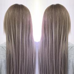 簡単ヘアアレンジ ダブルカラー ヘアアレンジ ナチュラル ヘアスタイルや髪型の写真・画像