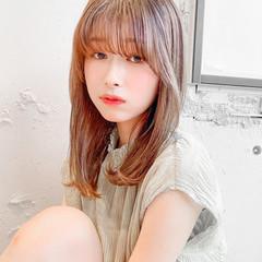 韓国ヘア ゆるふわパーマ デジタルパーマ レイヤーカット ヘアスタイルや髪型の写真・画像