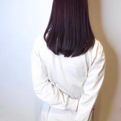 ナチュラル ピンクラベンダー ベリーピンク ラベンダーピンク ヘアスタイルや髪型の写真・画像