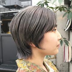 ウルフ ウルフレイヤー ウルフカット ストリート ヘアスタイルや髪型の写真・画像