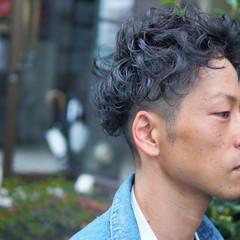 ボブ メンズ 外国人風 ショート ヘアスタイルや髪型の写真・画像