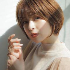 エレガント 大人女子 ショートヘア ショート ヘアスタイルや髪型の写真・画像