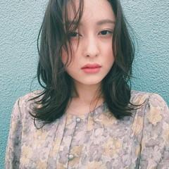 秋 アンニュイ パーマ ナチュラル ヘアスタイルや髪型の写真・画像