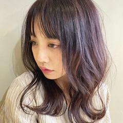 oggiotto うる艶カラー ピンクベージュ 大人可愛い ヘアスタイルや髪型の写真・画像