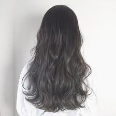 グラデーションカラー 外国人風カラー 透明感 ロング ヘアスタイルや髪型の写真・画像