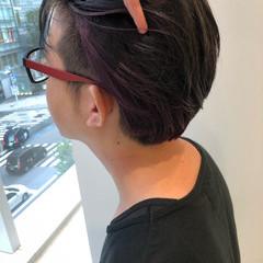ナチュラル メンズヘア メンズカット ショート ヘアスタイルや髪型の写真・画像