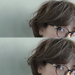 ボブ ショート ナチュラル 外国人風 ヘアスタイルや髪型の写真・画像