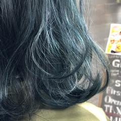 ヘアカラー ヘアアレンジ 成人式カラー ミディアム ヘアスタイルや髪型の写真・画像
