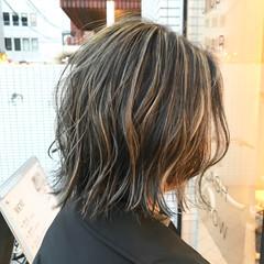 まとまるボブ 切りっぱなしボブ ボブ 外ハネボブ ヘアスタイルや髪型の写真・画像