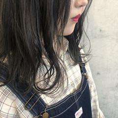 ヘアカラー ナチュラル ミディアム イルミナカラー ヘアスタイルや髪型の写真・画像