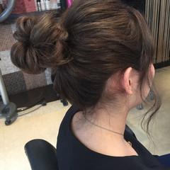 デート 簡単ヘアアレンジ ヘアアレンジ ナチュラル ヘアスタイルや髪型の写真・画像