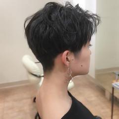 ツーブロック ショート ベリーショート ショートヘア ヘアスタイルや髪型の写真・画像