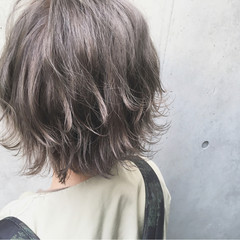 カーキアッシュ 外国人風カラー ストリート オリーブアッシュ ヘアスタイルや髪型の写真・画像