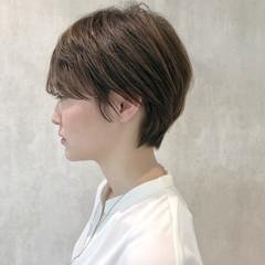 ショートヘア ミニボブ モード ショート ヘアスタイルや髪型の写真・画像