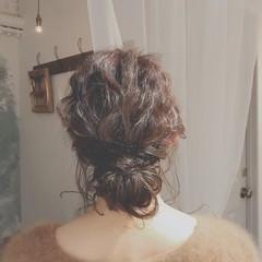 デート ロング パーティ ヘアアレンジ ヘアスタイルや髪型の写真・画像