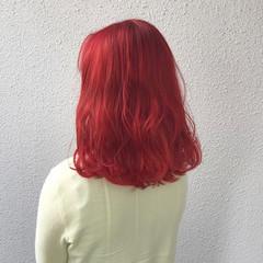 外国人風カラー ダブルカラー ガーリー ブリーチ ヘアスタイルや髪型の写真・画像