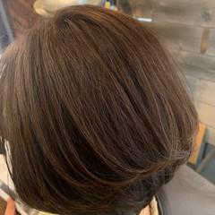 ナチュラル ボブ 大人グラボブ ヘアスタイルや髪型の写真・画像