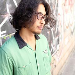 黒髪 OL パーマ ストリート ヘアスタイルや髪型の写真・画像