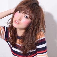 セミロング 大人女子 小顔 こなれ感 ヘアスタイルや髪型の写真・画像