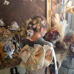 ミディアム ふわふわヘアアレンジ 成人式ヘア 成人式ヘアメイク着付け ヘアスタイルや髪型の写真・画像