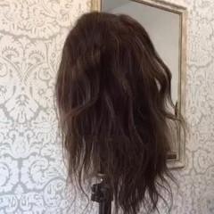 ヘアアレンジ セミロング 結婚式 ナチュラル ヘアスタイルや髪型の写真・画像