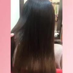 グラデーション 大人女子 ロング ナチュラル ヘアスタイルや髪型の写真・画像