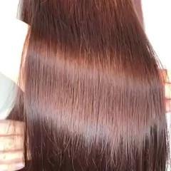 ツヤ髪 髪質改善 髪質改善カラー ナチュラル ヘアスタイルや髪型の写真・画像