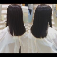 鎖骨ミディアム 大人ミディアム 髪質改善トリートメント ミディアム ヘアスタイルや髪型の写真・画像