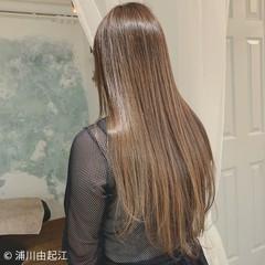 艶髪 グラデーションカラー 大人かわいい デート ヘアスタイルや髪型の写真・画像