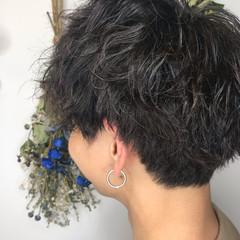メンズカット ショート ツイスト ストリート ヘアスタイルや髪型の写真・画像