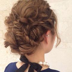結婚式 ハイライト ヘアアレンジ 成人式 ヘアスタイルや髪型の写真・画像