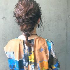 ナチュラル ヘアアレンジ 大人かわいい 結婚式 ヘアスタイルや髪型の写真・画像