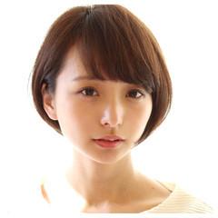 ニュアンス 小顔 ナチュラル パーマ ヘアスタイルや髪型の写真・画像