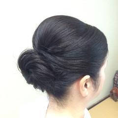 簡単 結婚式 ヘアアレンジ ブライダル ヘアスタイルや髪型の写真・画像