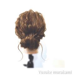セミロング 三つ編み 外国人風 大人かわいい ヘアスタイルや髪型の写真・画像