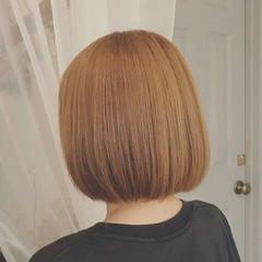 ボブ 秋 フェミニン 冬 ヘアスタイルや髪型の写真・画像