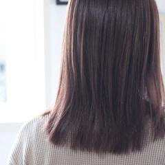 ナチュラル アッシュバイオレット バイオレットアッシュ バイオレット ヘアスタイルや髪型の写真・画像