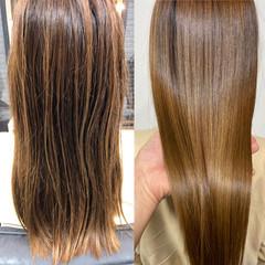髪質改善 髪質改善カラー 髪質改善トリートメント トリートメント ヘアスタイルや髪型の写真・画像