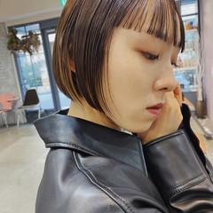 ボブ ショートヘア モード ミニボブ ヘアスタイルや髪型の写真・画像