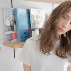 抜け感 モード 外国人風 ストリート ヘアスタイルや髪型の写真・画像