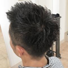 ストリート ツーブロック 刈り上げ メンズ ヘアスタイルや髪型の写真・画像