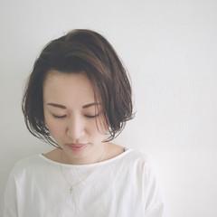 ショート 外国人風カラー 透明感 グレージュ ヘアスタイルや髪型の写真・画像