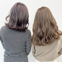 ダブルカラー グラデーションカラー ナチュラル 春 ヘアスタイルや髪型の写真・画像