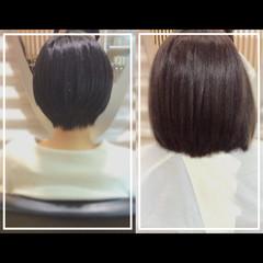 社会人の味方 髪質改善トリートメント 大人ヘアスタイル ショートヘア ヘアスタイルや髪型の写真・画像