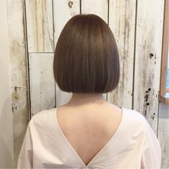 春 ボブ 夏 ストレート ヘアスタイルや髪型の写真・画像