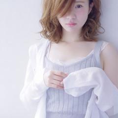 ゆるふわ ピュア ガーリー フェミニン ヘアスタイルや髪型の写真・画像