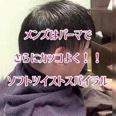 メンズパーマ メンズ メンズマッシュ メンズカット ヘアスタイルや髪型の写真・画像